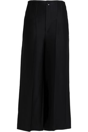 JOSEPH Satin wide-leg pants