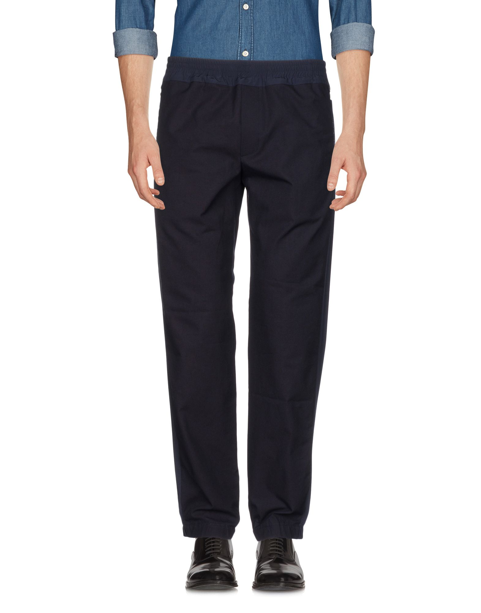 TIM COPPENS Casual Pants in Dark Purple
