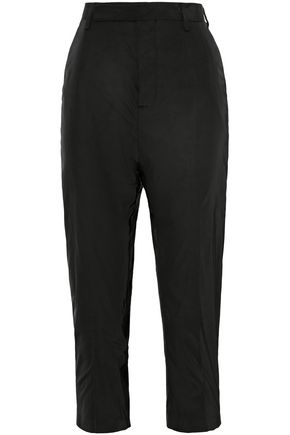 RICK OWENS Cropped shell slim-leg pants