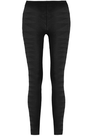 RICK OWENS Stretch-knit leggings