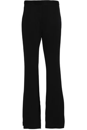 ELLERY Satin-crepe flared pants