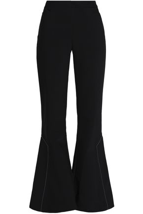 ELLERY Woven wool-blend flared pants