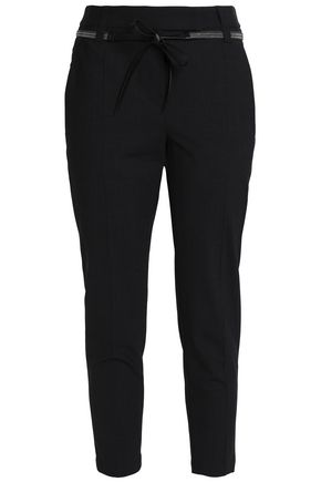 BRUNELLO CUCINELLI Wool-blend slim-leg pants