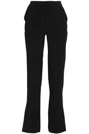 DION LEE Crepe straight-leg pants