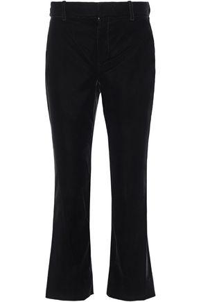 DEREK LAM 10 CROSBY Velvet flared pants
