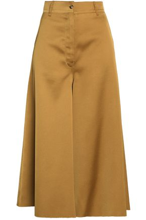 MM6 by MAISON MARGIELA Satin-crepe culottes