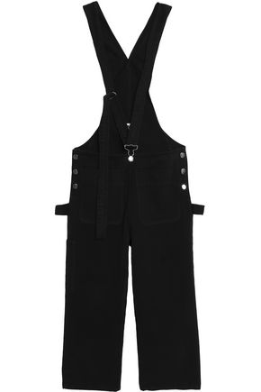 MM6 MAISON MARGIELA Cropped denim overalls