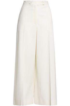 PROENZA SCHOULER Pleated stretch-wool culottes