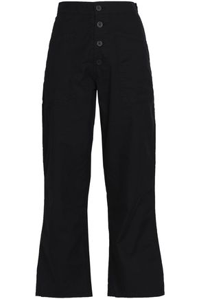 RTA Cotton-blend straight-leg pants