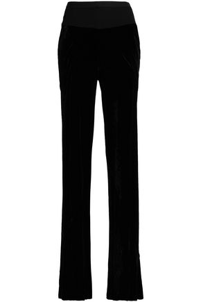 RICK OWENS Velvet flared pants