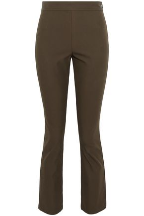 THEORY Cotton-blend twill slim-leg pants
