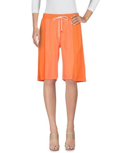 Pantaloni bermuda Arancione donna PIANURASTUDIO Bermuda donna
