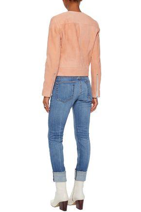 RAG & BONE Faded low-rise skinny jeans