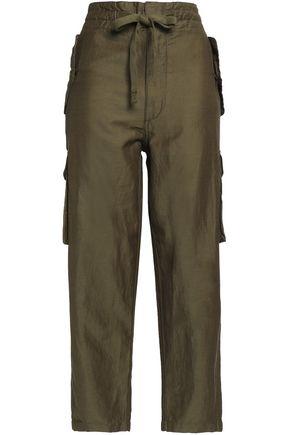 VINCE. Woven straight-leg pants