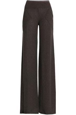 RICK OWENS LILIES Knit wide-leg pants