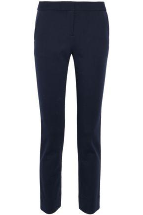 DIANE VON FURSTENBERG Stretch-cady slim-leg pants