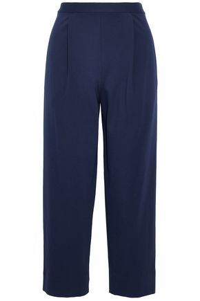 DIANE VON FURSTENBERG Stretch-cady straight-leg pants
