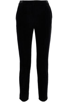 Velvet Slim Leg Pants by Diane Von Furstenberg