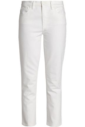 TORY BURCH Mid-rise straight-leg jeans