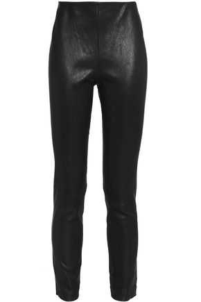 RAG & BONE Leather tapered pants