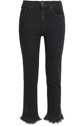 RAG & BONE/JEAN Frayed skinny jeans