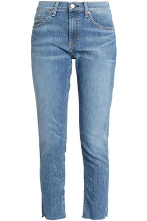 RAG & BONE/JEAN Faded skinny jeans