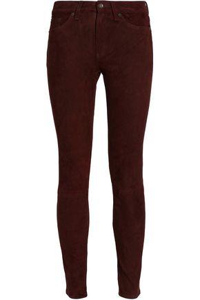 RAG & BONE/JEAN Suede skinny pants