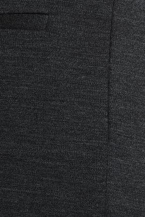 ROSETTA GETTY Wool-jersey flared pants
