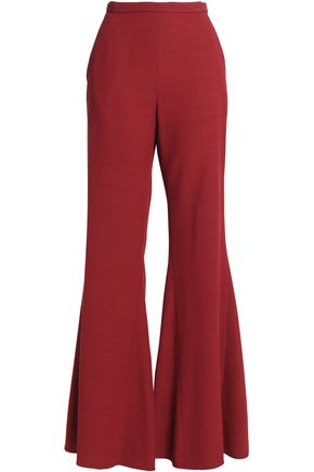 ROSETTA GETTY Crepe flared pants