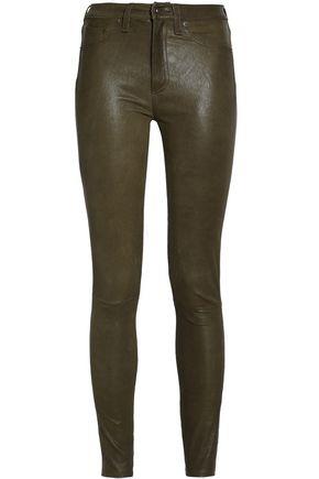 RAG & BONE/JEAN Leather skinny pants