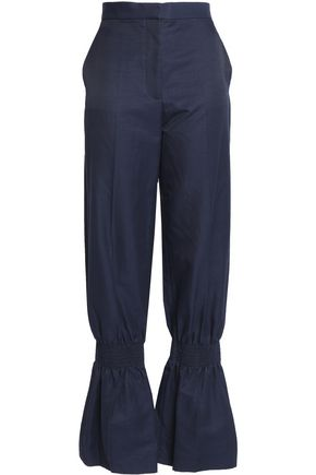 STELLA McCARTNEY Shirred wide-leg pants