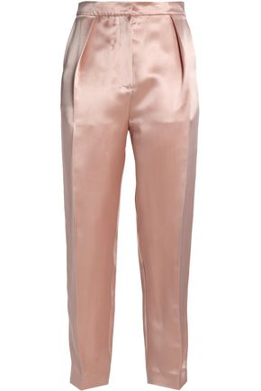 ROKSANDA Silk-blend satin tapered pants