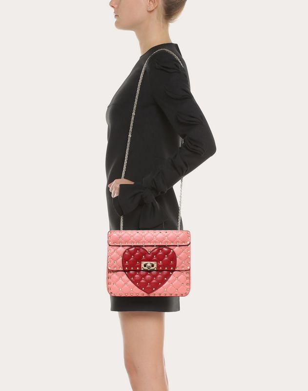 Medium Heart Spike Bag