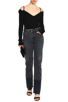RE/DONE with LEVI'S High-rise slim-leg jeans