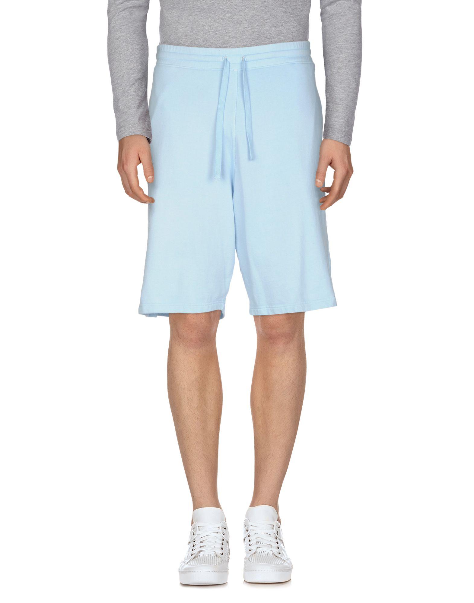 AIEZEN Shorts & Bermuda in Sky Blue