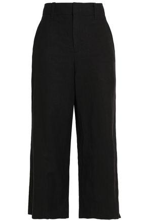 VINCE. Twill wide-leg pants
