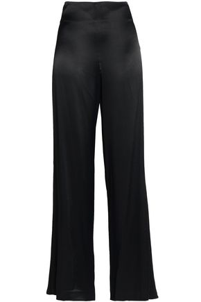 VINCE. Satin wide-leg pants