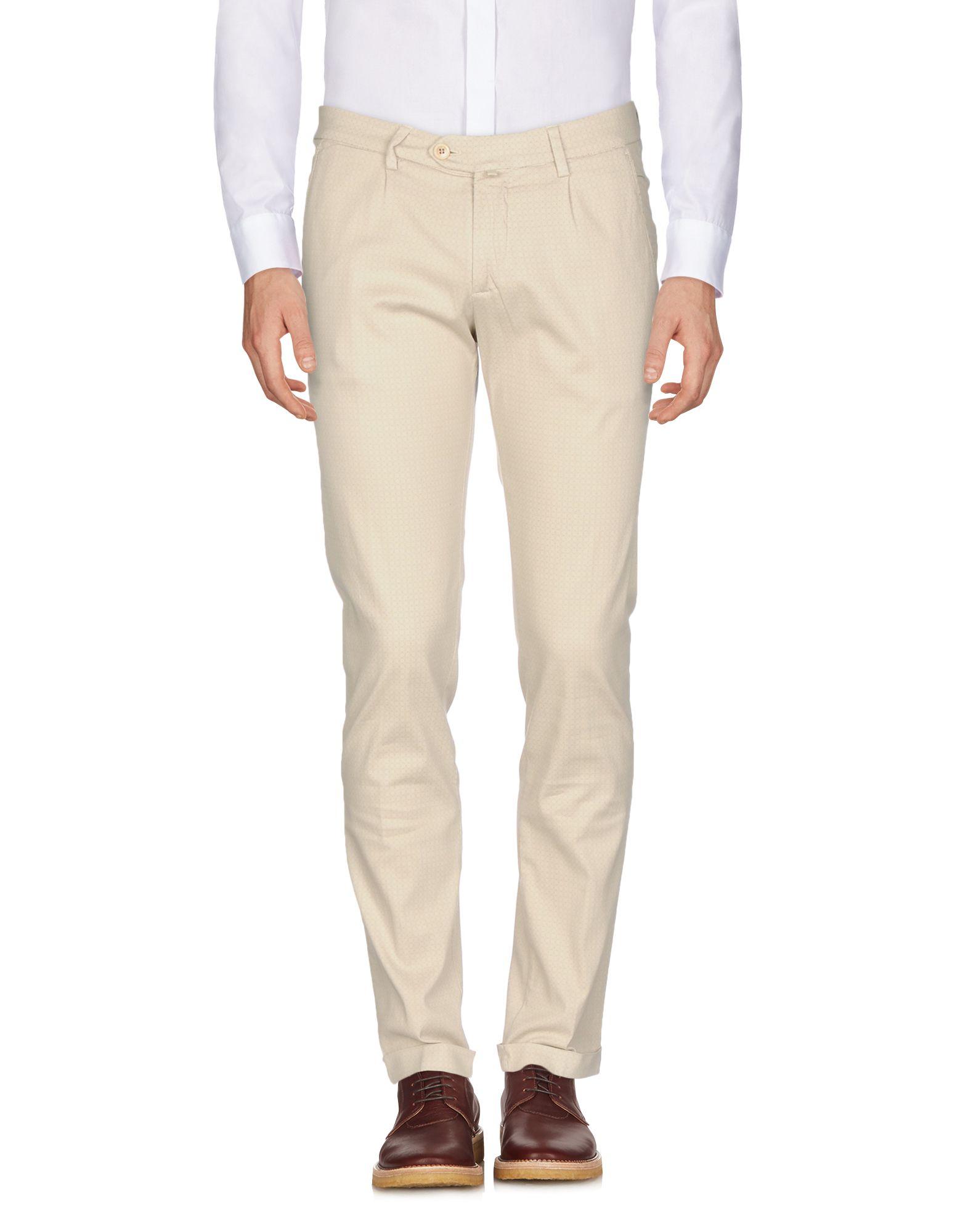 B SETTECENTO Повседневные брюки m double b повседневные брюки
