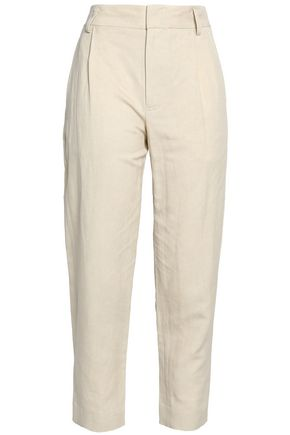 VINCE. Twill tapered pants