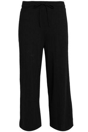 VINCE. Cotton wide-leg pants