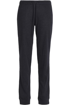 MAJESTIC FILATURES Cotton and cashmere-blend track pants