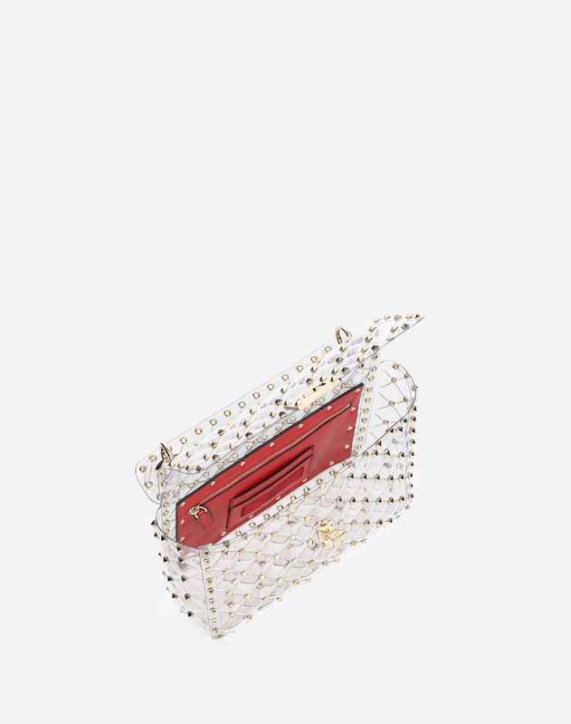 Medium Plexy Rockstud Spike.it Bag