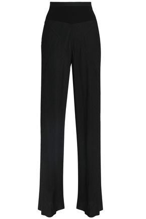 RICK OWENS Jacquard wide-leg pants