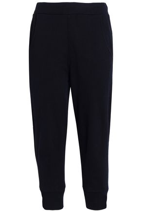VINCE. Cropped cotton track pants
