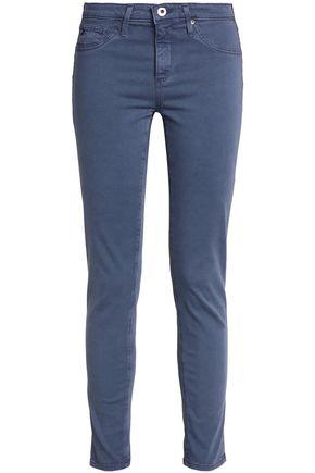 AG Jeans Mid-rise slim-leg jeans
