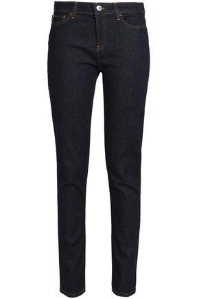 LOVE MOSCHINO Mid-rise slim-leg jeans