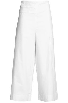 TIBI Esteban cotton-blend twill culottes