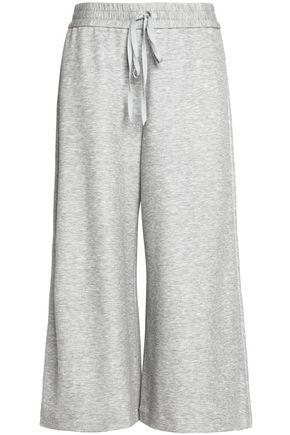 ADAM LIPPES Mélange stretch-jersey culottes