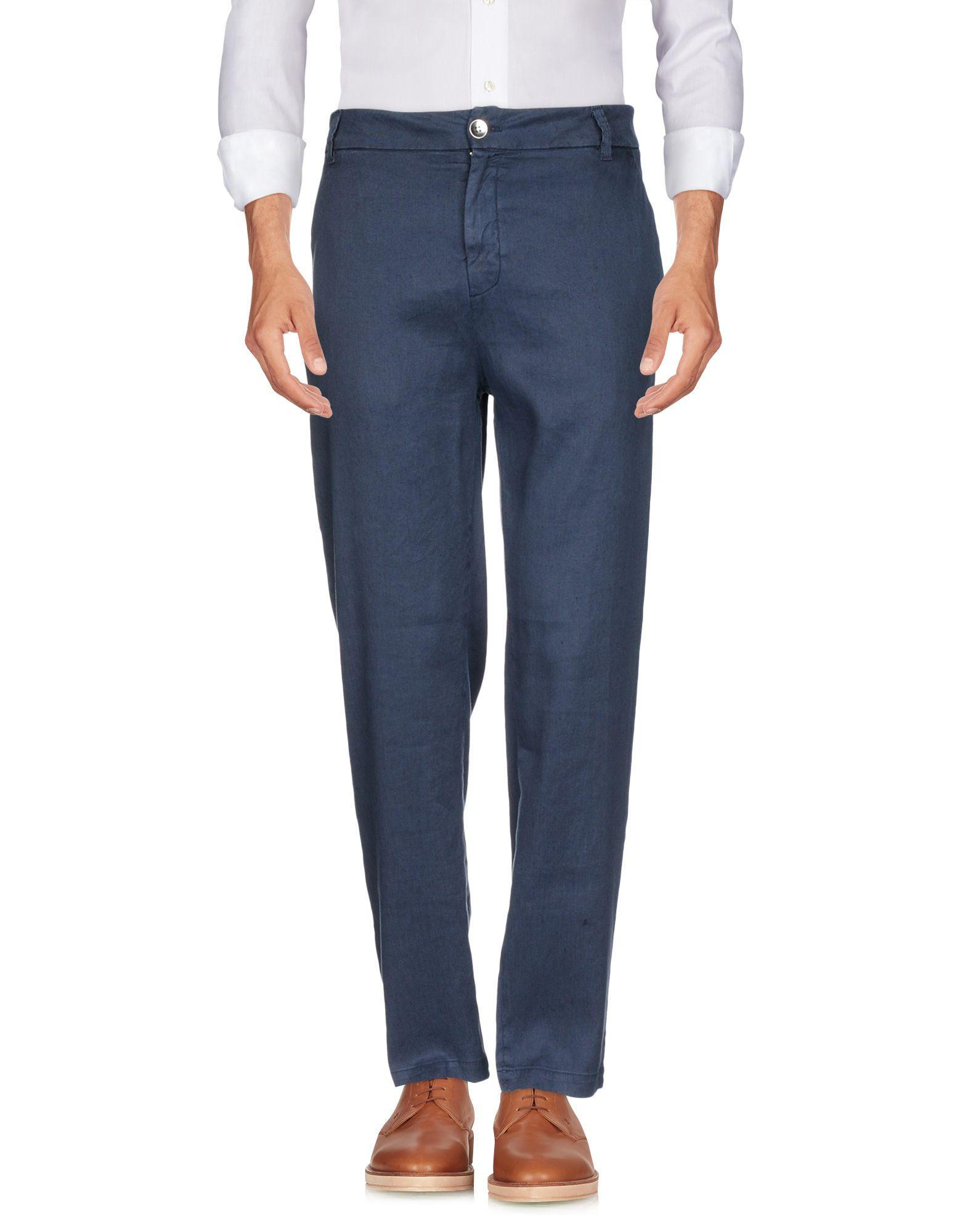 MASON'S Casual Pants in Dark Blue