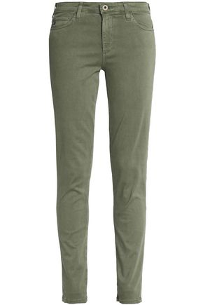 AG Jeans Cotton-blend skinny pants